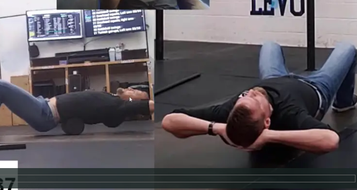 Slouching will lead to many problems, the thoracic spine extension roll will undo slouching and restore postural health
